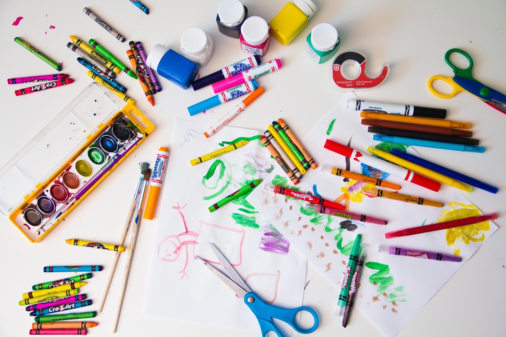 dạy vẽ cho trẻ em
