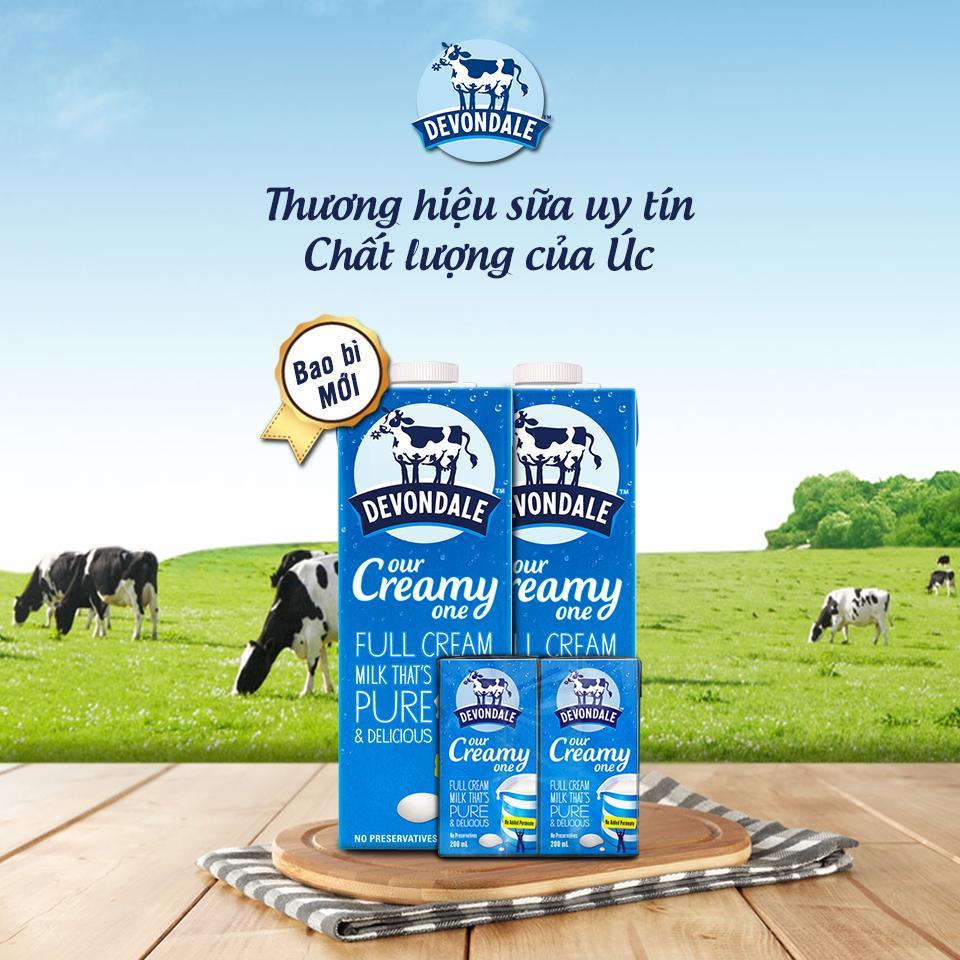 Công ty sữa tươi Úc giá rẻ an toàn