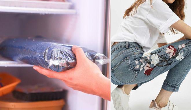 cách giặt quần jean không ra màu mới