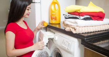 cách giặt quần áo bằng máy giặt nhanh