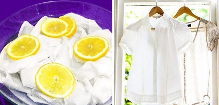 cách tẩy vết thâm kim trên quần áo màu hay
