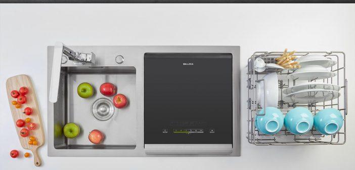 máy rửa chén tích hợp chậu rửa malloca tốt nhất
