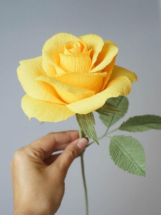 làm hoa giấy