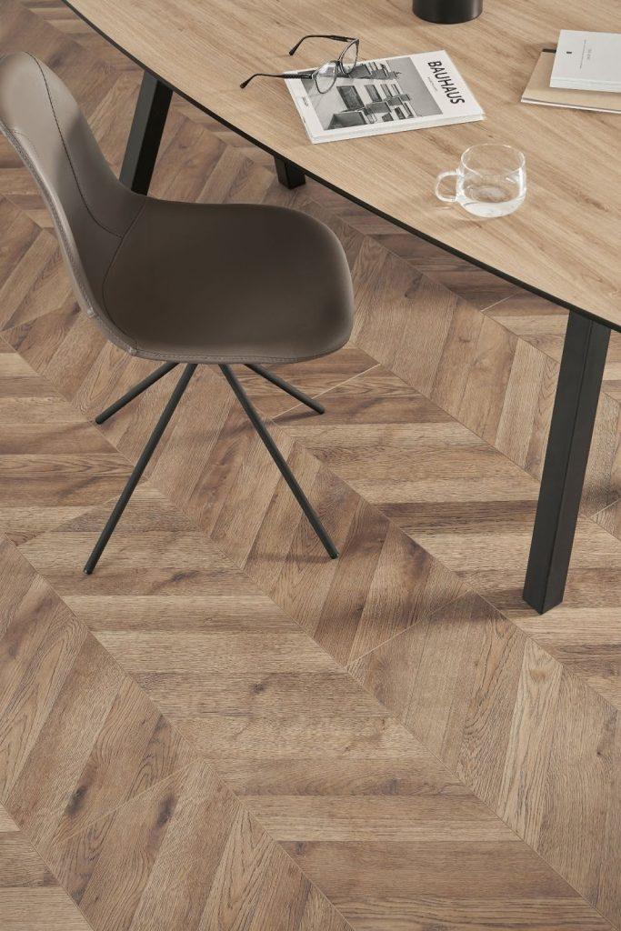 sàn gỗ vân xương cá